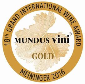 MUNDUS VINI 2016 - GOLD