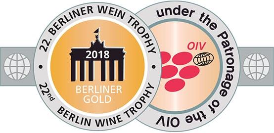 Berliner Wein Trophy 2018 - GOLD