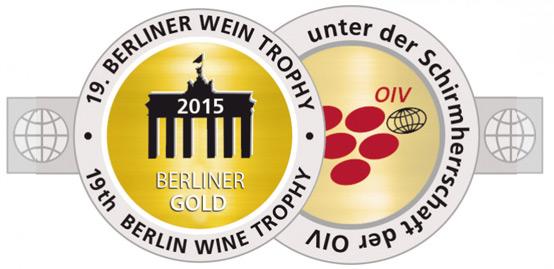 Berliner Wein Trophy 2015 - GOLD