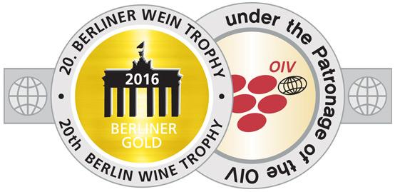Berliner Wein Trophy 2016 - GOLD